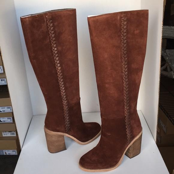 d3a3974cb8b ❤️New Ugg Maeva Mahogany Tall Suede boots Size 5 NWT